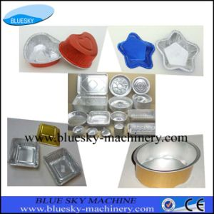 Various Shapes Aluminium Foil Container Making Machine
