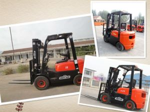 1.5 Ton Diesel Forklift Truck with 3 Meter Height Made in China Factory (CPCD15FR)