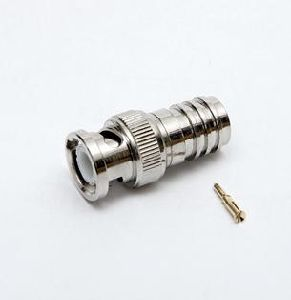 BNC Male to F Crimp Connector for Rg59/6 pictures & photos