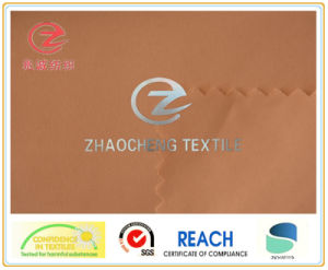 320t 2/1 Twill Poly Pongee Garment Fabric with PU Coated