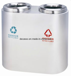 Public Stainless Steel Trash Can (DL70) pictures & photos