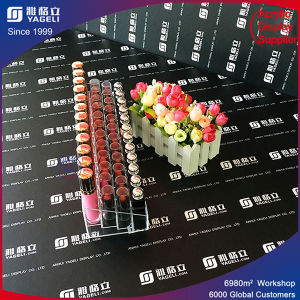 Luxury Plexiglass Acrylic Lipstick Display Rack pictures & photos