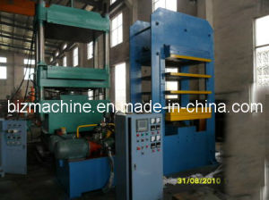 hydraulic curing press machine pictures & photos