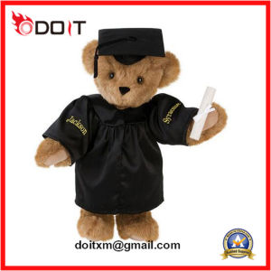 2016 New Design Graduation Stuffed Bear with Cap and Diploma pictures & photos