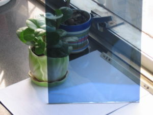 Dark Blue Float Glass pictures & photos
