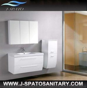 Modern Hanging Wall Cabinet Design with Ceramic Basin (JS-B001)