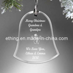 Personalized Crystal Glass Christmas Collection for Decoration pictures & photos