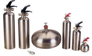 Stainless Abc Dry Powder Fire Extinguisher