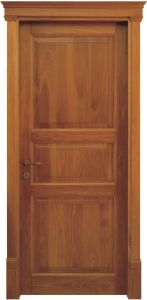 European-Style of Solid Wood Door (ED015) pictures & photos