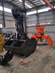 Excavator Clamshell Grab Bucket Without Rotator pictures & photos
