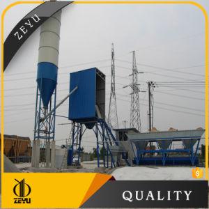China Manufacturer Stationary Portable Construction Concrete Mixer Plant Hzs25 pictures & photos