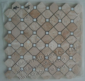 Travertine Mosaic Tiles pictures & photos