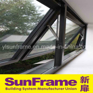 Aluminium Double Top Hinged Window for House pictures & photos