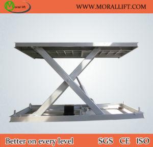 Stationary Auto Parking Scissor Car Lift Table (SJG3-4) pictures & photos