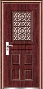 Steel Anti-Theft Security Door Fam-16