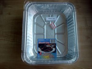 Aluminium Foil Tray with Customized Color pictures & photos