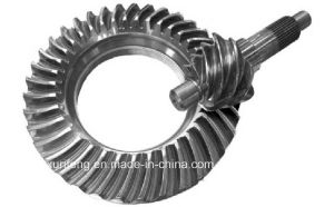 Spiral Bevel Gear for Contruction Machinery From Gleason