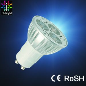 High Power LED 3W Spot Light / Lamp (GU10)
