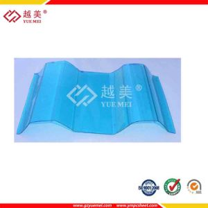 1mm Clear Greenhouse Plastic Polycarbonate Roofing Corrugated Sheet pictures & photos
