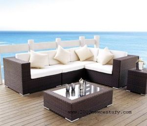 Outdoor / Garden / Patio / Rattan Sofa (NC6063)