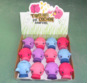 Plastic Coin Bank for Promotion