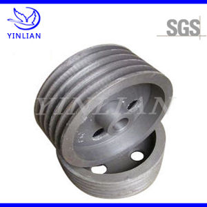Sand Casting Iron Belt Pulley for Mining Machine Spare Part