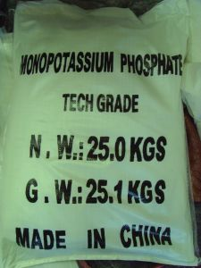 Water Soluble Chemical Fertilizer Monopotassium Phosphate 0-52-34 MKP