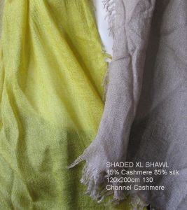 Cashmere Airy Shaded Shawl pictures & photos