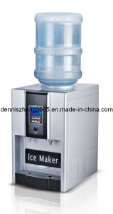 Professional 2-in-1 Automatic Ice Maker and Water Dispenser pictures & photos