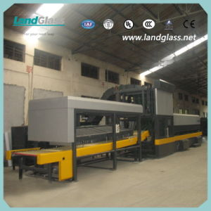 Landglass Forced Convection Tempering Glass Bending Kiln pictures & photos