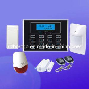 Wireless Home Burglar Security GSM Alarm System (BT-111)
