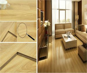 China Manufacture Light Color Laminate/Laminated Flooring pictures & photos