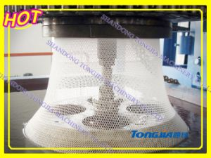Plastic Rigid Diamond Mesh Making Machine pictures & photos