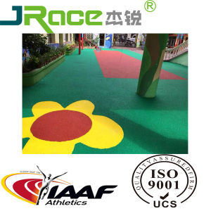 Outdoor Non-Slip EPDM Rubber Athletic Sports Surface Running Track pictures & photos
