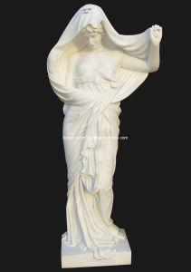 White Marble Lady Statue Sculpture pictures & photos