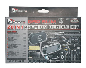 20in1 Bundle Kits for PSP Slim 2000/3000 (IC-PSP03017)