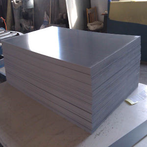 PVC Rigid Plastic Board Extruded Sheets / Black/White/Grey PVC Rigid Plate pictures & photos