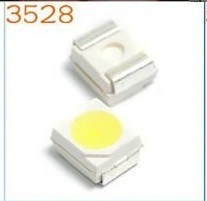 3528 SMD LED Yellow Color