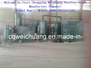 Used Motor Oil Refining Plant