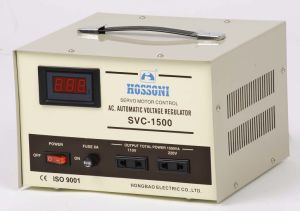 Digital Display Type Voltage Stabilizer (AVR) 1.5kVA pictures & photos