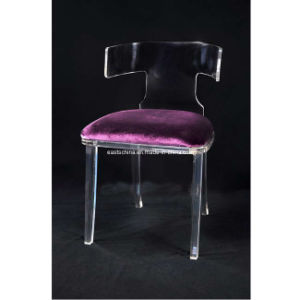 Acrylic Purple Chair