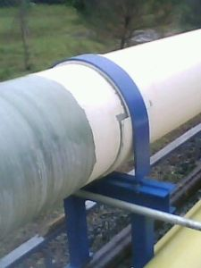 FRP Pipes with Coating out Door Application pictures & photos