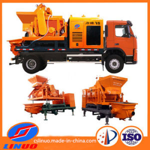 Mini Forced Concrete Mixer Pump Truck