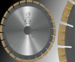 Diamond Arrayed Cutting Blade-Arrayed Saw for Granite and Limestone Cutting pictures & photos