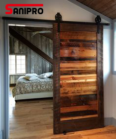 Original Antique Garage Hanging Sliding Wood Barn Door Hardware Track pictures & photos