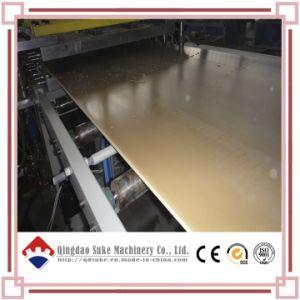 PVC Art Painting Foam Board Extrusion Production Line (SJSZ80X156) pictures & photos