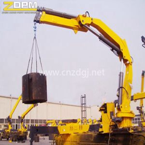 10 Ton Marine Telescopic Boom Ship Deck Crane pictures & photos