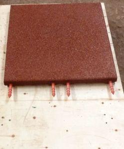 En1177 Anti Slip Interlocking Rubber Floor Tile, Gym Floor Mat pictures & photos