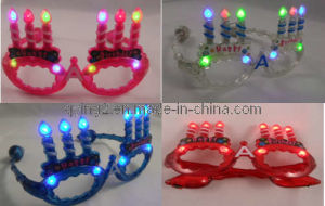 Candle Flashing Glasses (QY-LS019) pictures & photos
