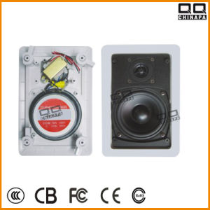 Qqchinapa 100V Rectangle Ceiling Speaker with CE pictures & photos